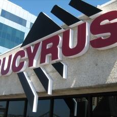 3D Lettering - Bucyrus