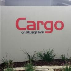 3D Lettering - Cargo