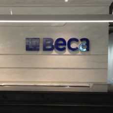 3D Lettering - Beca