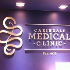 3D Lettering - Carindale Medial Centre